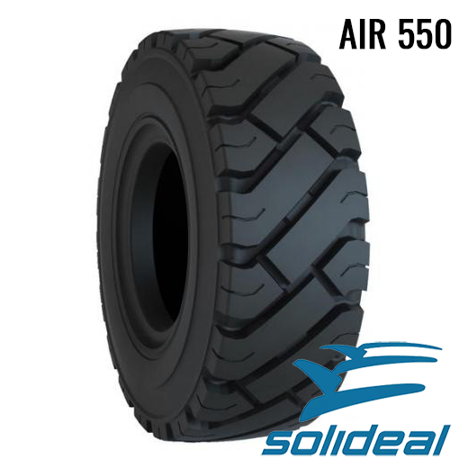 7.00 - 12 / 14 PR ED+ SOLIDEAL AIR 550 ED PLUS BLACK + FullSet (TR75A)